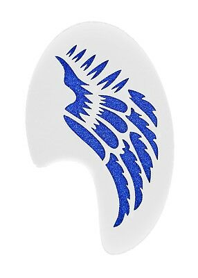 Tribal Wing Face Paint Festival Party Stencil approx 12cm x 8cm Washable Mylar