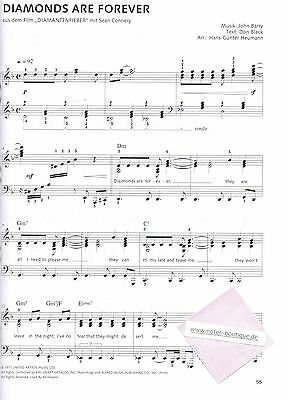 Heumann Klavier Noten Klassiker der Filmmusik mittelschwer