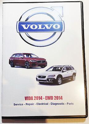 VOLVO - VIDA VADIS Service Shop Repair Manual Parts Catalog Wiring Diagrams DVD 3