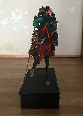 32cm Japanese Antique SAMURAI Armor YOROI Doll MUSHA NINGYO with Horse 7