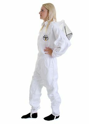 BUZZ Beekeeping bee suit - MEDIUM with round hat and twin hoop veil 4