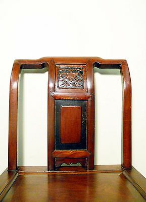 Antique Chinese Ming Chairs (5435) (Pair), Zelkova Wood, Circa 1800-1949 6