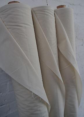 "100% Natural Cotton Calico Fabric Medium Weight 145gsm 63"" Handcraft 1M RRP£8.99 5"