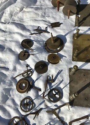 A Very Large Assortment Of Longcase Grandfather Clock Parts 8
