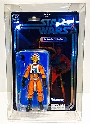 1 Clear Protector For CELEBRATION LUKE X-WING STAR WARS 40TH Display Case Box 3