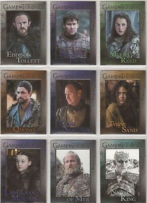 Game of Thrones Season 7 Trading Cards - Basis Set (81 Karten)