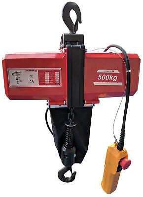 Électrique Palan à Chaîne 500Kg à la 10 Mètre Poulie 2