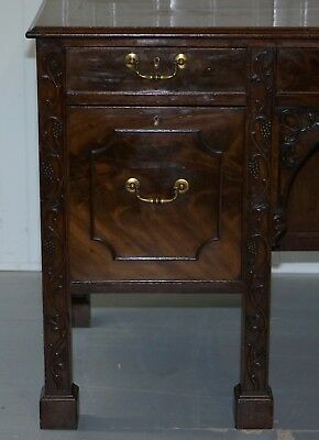 Viscountess Boyd's Ince Castle Rare George Iii Mahogany Sideboard Chippendale 8