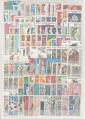 Madagascar rare lot de  timbres neufs  poste et  PA et taxes **   TTB 4