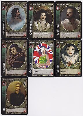4 x Alan Sovereign VTES CCG Mixed
