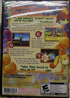 "Dokapon Kingdom PS2 (Sony PlayStation 2) Brand New Factory Sealed. ""Y"" fold. 2"