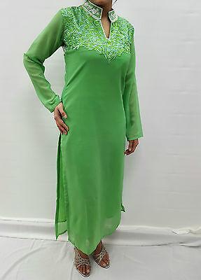 Ladies New Beautiful Kurta Kurti Tunic Pakistani Indian Dress Shalwar Kameez 3