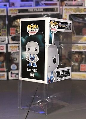 "10 FUNKO POP! BOX PROTECTORS FOR 4"" VINYL FIGURE .50mm Super Thick CLEAR CASES 5"