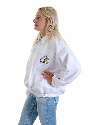 Beekeeping White Fencing Jacket - Choose Your Size