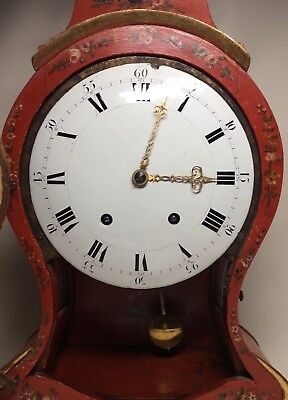 Large Late 18th Century Swiss/South German 1/4 Repeater Quarter Bracket Clock 5