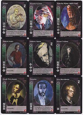 Assamite Black Hand Crypt Lot G4//G5 5x Vampires LotN//SoC//KMW//Gehenna V:TES VTES