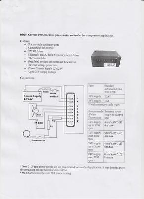 ELECTRONIC START UNIT Compressor BD35F, BD50F 12V 24V Danfoss SECOP  Equivalent