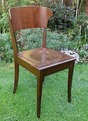 Richard RIEMERSCHMID Hellerau Chair Deutscher Werkstatten Art Nouveau Jugendstil 2