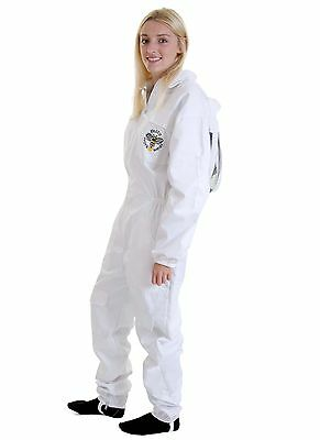 [UK] Buzz Work Wear Beekeeping White Fencing Veil Bee Suit -SELECT SIZE