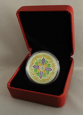 Canada 2014 $20 Stained Glass: Casa Loma, 1 oz. Pure Silver Coin, #2 in Series 9