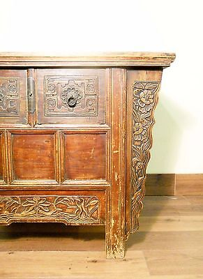 "Antique Chinese ""Butterfly"" Coffer (5626), Circa 1800-1849 2"