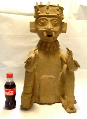 Very Large Figure Veracruz - Pre-columbian 500 ad - Ancient Remojadas Figure 5