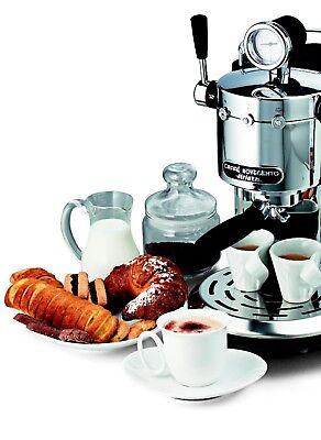 ARIETE 1387 CAFFE NOVECENTO Macchina Caffè Espresso Cromata Interamente Metallo 2