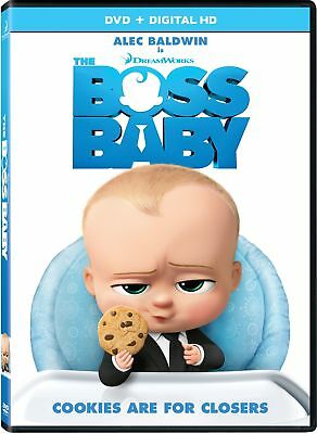 The Boss Baby (DVD, DIGITAL 2017) NEW 2