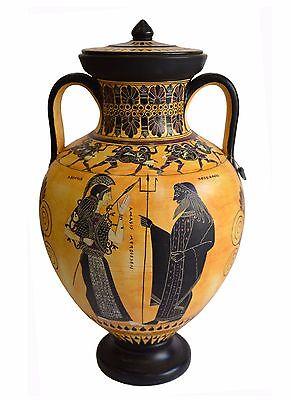 Dionysos with Maenads-Amasis-Ancient Greek Amphora Replica-Cabinet des Médailles 2