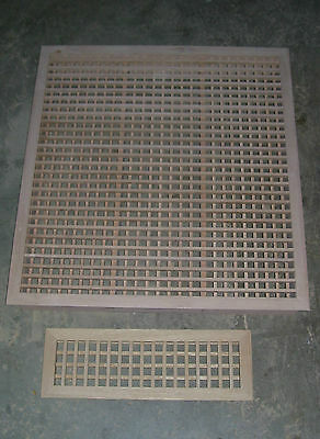 Made To Your Size Large Wood Floor Grate  Wall Register Floor Vent 3