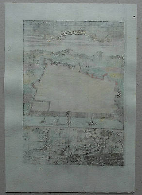 Die Statt Bagdet - Bagdad - Ansicht von Alain Manesson Mallet - Original v. 1720