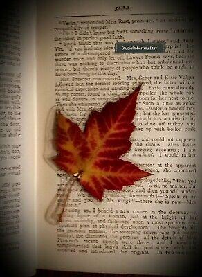 Genuine Canadian Maple Leaf Bookmark! 4