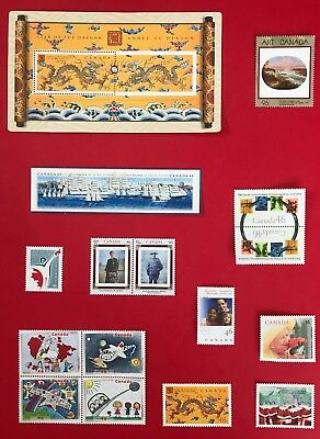 Canada 2000 Postage Stamps - Complete Year Annual Collection Stamp- Free Ship 2
