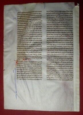 1250 PARIS - Gotische Bibelhandschrift PERLBIBEL