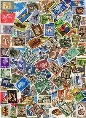 1000s ALL DIFFERENT OLD WORLD Stamps Collection Off Paper in Lot Packs of 150+ 11