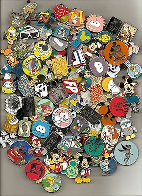 Disney Trading Pin 80 lot HM-RACK-LE-CAST NO DUPS Fastest Shipper in USA 3