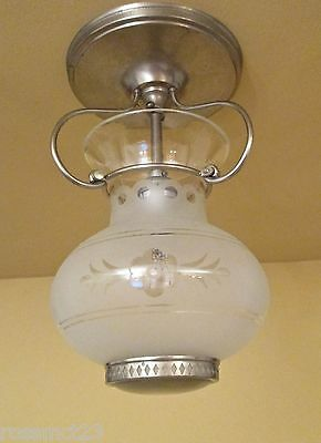Vintage Lighting 1930s foyer fixture by Lightolier 2