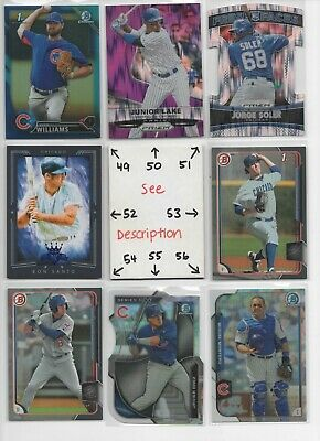 Chicago Cubs ** SERIAL #'d Rookies Autos Jerseys ** ALL CARDS ARE GOOD CARDS* 7