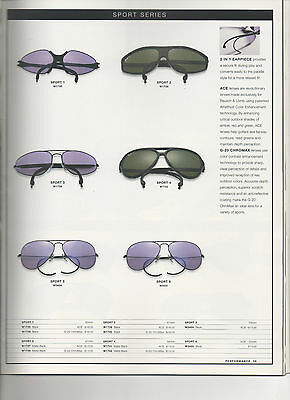 eaa7b5273cf042 2 di 4 CD of digital images from Vintage Ray Ban B L USA Sunglasses 97 CATALOG  brochure
