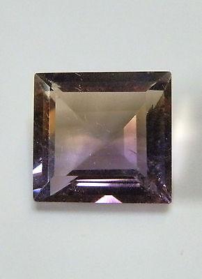 Natural square cut ametrine gem...13.1 Carat