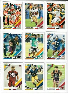 2019 Panini Donruss #250-350 ROOKIE RATED ROOKIE You Pick JONES KYLER LAWRENCE + 3