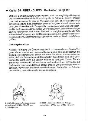 GM Motore 4,9-5,7 SmallBlock jetzt auf 110 Seiten Getriebe Anleitungen