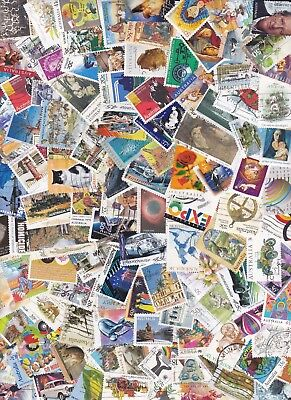 100 Australia Stamps All Different Used Bulk Collection Lot Off Paper Free Post 8
