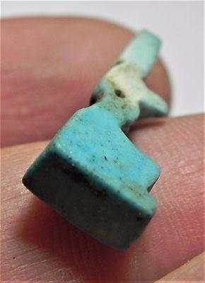 Zurqieh -Af1992- Ancient Egypt , Unique Faience Amulet. 1075 - 600 B.c