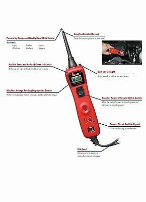 Power Probe III Circuit Tester & Voltmeter Clamshell, Green #PP3CSGRN 3