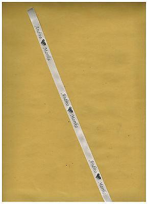 50 Ventagli in bamboo matrimonio art. Firenze,  NASTRO PERSONALIZZATO OMAGGIO 3
