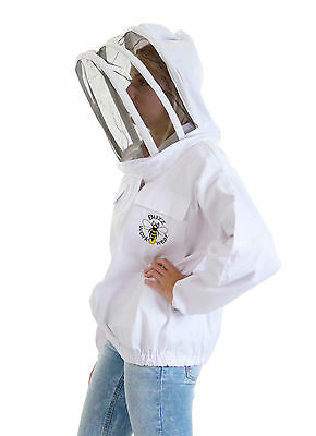 [UK] Buzz Work Wear Beekeeping White Fencing Veil Zip-Up Jacket- SELECT SIZE
