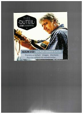 """Duteil Yves """"L'Essentiel 2CD RARE Série Limitée Digibook Neuf Sous Blister. $ 3"""