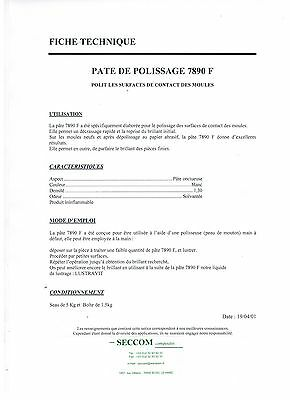 Pate De Polissage 7890 F  1,5 Kg 2
