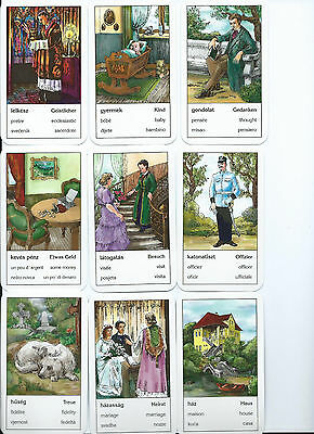 HUNGARIAN GYPSY FORTUNE Telling Cards Gipsy Cards Tarot Hungary Free  Shipping